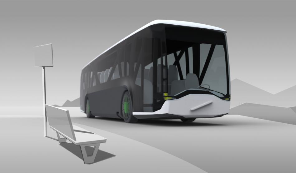 концепт автобусы